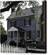 George Peers House Appomattox Virginia Canvas Print by Teresa Mucha