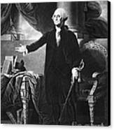 George Washington, 1st American Canvas Print by Omikron