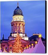 German Christmas Market Canvas Print by Murat Taner