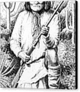 Geronimo Canvas Print by Gordon Punt