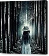 Girl In The Forest Canvas Print by Joana Kruse