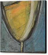Glass Of White Canvas Print by Tim Nyberg