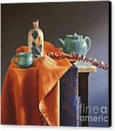 Glazed With Light Canvas Print by Barbara Groff