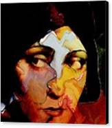 Gloria Swanson Abstract Canvas Print by Stefan Kuhn