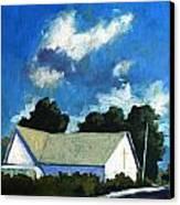 Glory Barn Canvas Print by Charlie Spear