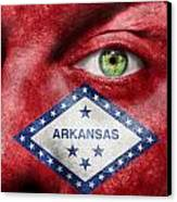 Go Arkansas  Canvas Print by Semmick Photo
