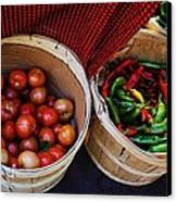 Going To Market Canvas Print by Paulette Thomas
