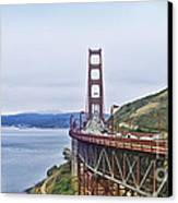 Golden Gate Bridge Canvas Print by Betty LaRue