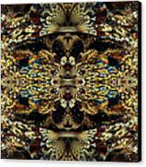 Golden Split Crop Canvas Print by Peggi Wolfe