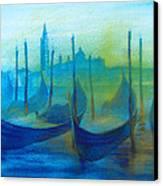 Gondolas Canvas Print by Khromykh Natalia