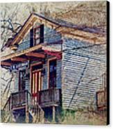 Goodman General Merchandise Canvas Print by Kathy Jennings