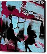 Graffiti - Urban Art Serigrafia Canvas Print by Arte Venezia