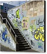 Graffiti Canvas Print by Mark Williamson