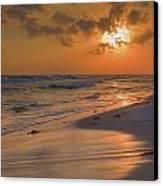 Grayton Beach Sunset 7 Canvas Print by Charles Warren