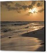 Grayton Beach Sunset Canvas Print by Charles Warren