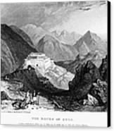 Greece: Souli, 1833 Canvas Print by Granger