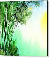 Green 1 Canvas Print by Anil Nene