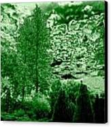 Green Zone Canvas Print by Will Borden