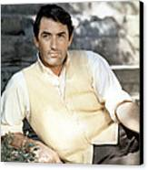 Gregory Peck, Ca. Late 1950s Canvas Print by Everett