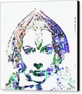 Greta Garbo Canvas Print by Naxart Studio