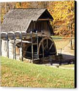 Grist Mill 2 Canvas Print by Franklin Conour