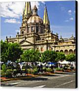 Guadalajara Cathedral Canvas Print by Elena Elisseeva