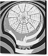 Guggenheim Museum Bw3 Canvas Print by Scott Kelley
