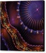 Gypsy Skirt Canvas Print by Pam Blackstone