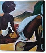 Hallucination Canvas Print by Prasenjit Dhar