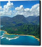 Hanalei Bay 2 Canvas Print by Ken Smith