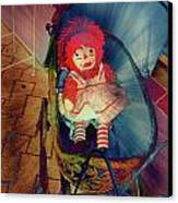 Happy Dolly Canvas Print by Susanne Van Hulst
