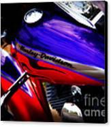 Harley Addiction Canvas Print by Susanne Van Hulst