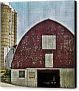 Harvest Barn Canvas Print by Kathy Jennings
