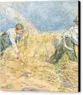 Harvester Canvas Print by LP Smythe