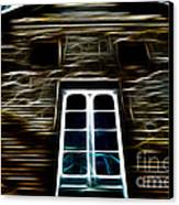 Haunted House Canvas Print by Cheryl Young