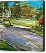 Hawk Hill Canvas Print by Scott Nelson