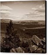 Hawk Mountain Sanctuary S Canvas Print by David Dehner