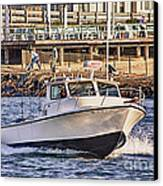 Hdr Boat Boats Sea Ocean Fishing Jetty Boadwalk Photos Pictures Photography Scenic Landscape Pics Canvas Print by Pictures HDR