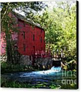 Heart Of The Ozarks Canvas Print by Lianne Schneider