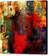 Help Canvas Print by Fania Simon
