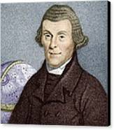Henry Andrews, English Astronomer Canvas Print by Sheila Terry