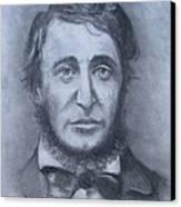 Henry David Thoreau Canvas Print by Jack Skinner