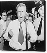 Henry Wallace 1888-1965, 1948 Canvas Print by Everett
