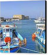 Heraklion - Venetian Fortress - Crete Canvas Print by Joana Kruse
