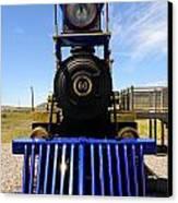 Historic Jupiter Steam Locomotive Canvas Print by Gary Whitton