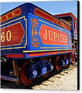 Historic Jupiter Train - Promontory Point National Historic Park Canvas Print by Gary Whitton