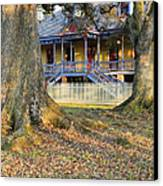 Historic Plantation Slave Quarters Canvas Print by Jeremy Woodhouse