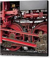Historical Steam Train Canvas Print by Heiko Koehrer-Wagner