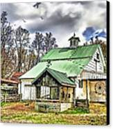 Holmes County Farm Canvas Print by Tom Schmidt