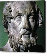 Homer (9th-8th Century B.c.) Canvas Print by Granger